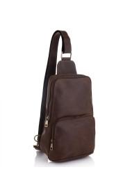 Винтажный мужской коричневый слинг Newery N41719KC