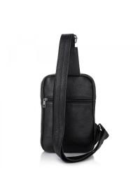Мужская сумка на плечо черная Newery N6896FA