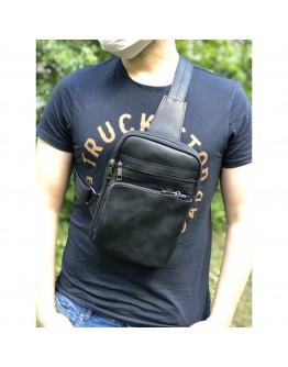 Мужская сумка на плечо - слинг NEWERY N6896KA