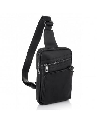 Фотография Мужская сумка на плечо - слинг NEWERY N6896KA
