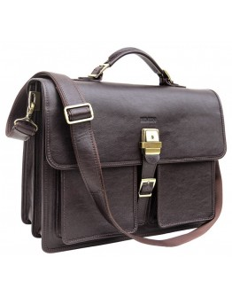 Оригинальный коричневый мужской портфель Newery N7164GC