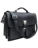 Фотография Мужской портфель из плотной натуральной кожи Newery N7164KA