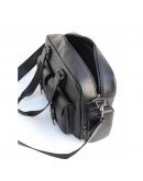 Фотография Кожаная вместительная мужская сумка с ручками Newery N7381GA