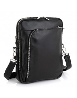 Черная мужская сумка на плечо Newery N7788GA