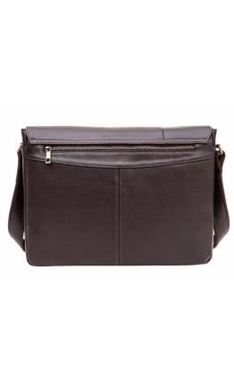Большая коричневая сумка на плечо Newery N8128GC