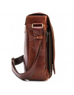 Большая мужская рыжая сумка на плечо Newery N8128GCR