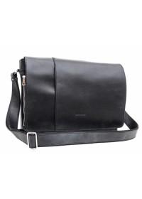 Большая винтажная черная сумка на плечо Newery N8128KA