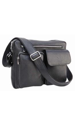 Мужская сумка на плечо кожаная Newery N9812FA