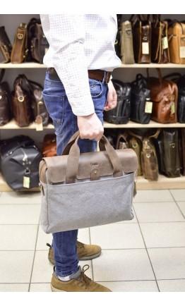 Мужская сумка на каждый день серая Tarwa RC-1812-4lx