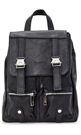Черный небольшой кожаный рюкзак Tarwa FA-3016-4lx