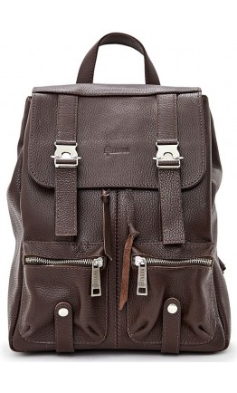 Коричневый рюкзак из натуральной кожи Tarwa FC-3016-4lx