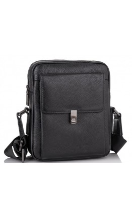 Черная мужская сумка на плечо Tiding Bag NM11-2030A