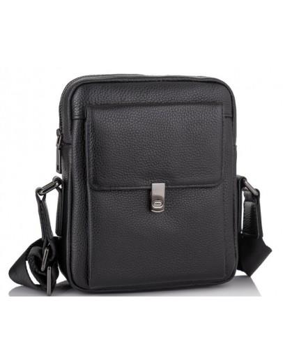 Фотография Черная мужская сумка на плечо Tiding Bag NM11-2030A