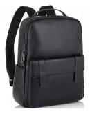 Фотография Рюкзак деловой кожаный черный Tiding Bag NM11-7537A