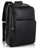 Фотография Мужской рюкзак из кожи для ноутбука Tiding Bag NM18-005A