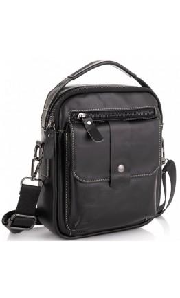 Небольшая черная сумка - барсетка Tiding Bag NM20-881A