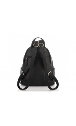Черный кожаный рюкзак Olivia Leather NM20-W009A
