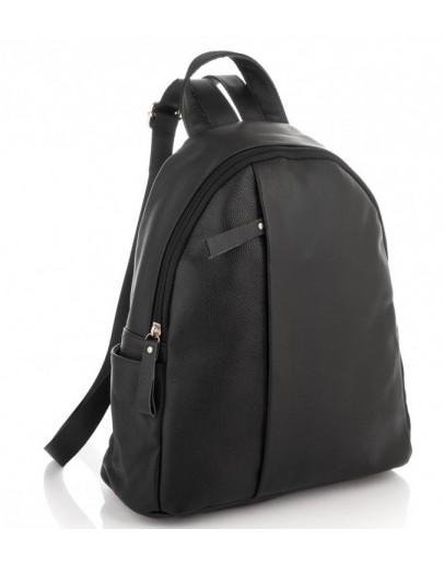 Фотография Черный кожаный рюкзак Olivia Leather NM20-W009A