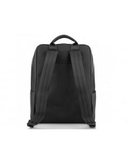 Черный кожаный рюкзак Tiding Bag NM29-2679BA