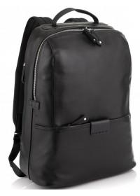 Мужской черный рюкзак Tiding Bag NM29-88056A