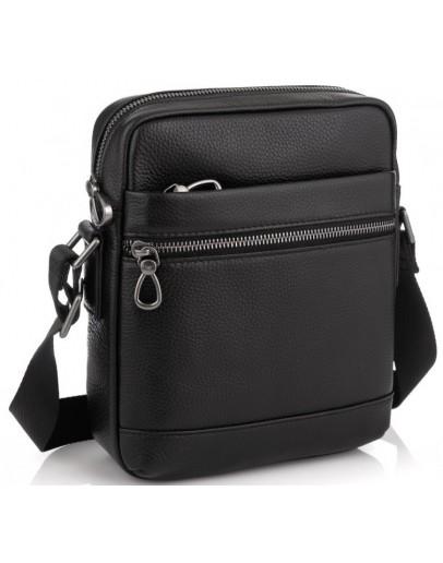 Фотография Черная мужская сумка на плечо Tiding Bag NM29-88078A