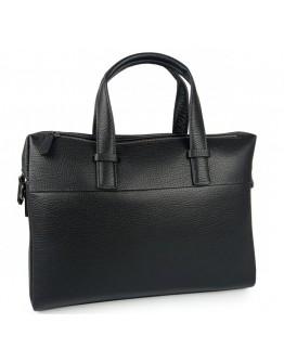 Черная деловая кожаная сумка Tiding Bag NM29-88253-3A