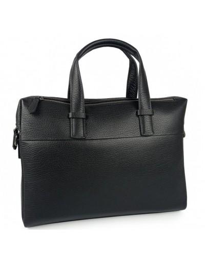 Фотография Черная деловая кожаная сумка Tiding Bag NM29-88253-3A
