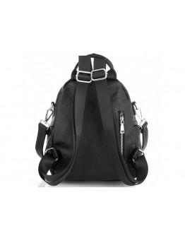 Кожаный женский черный рюкзак Olivia Leather NWBP27-003A