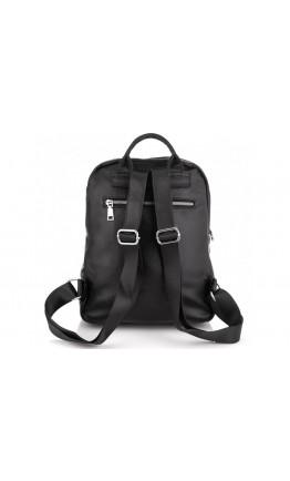 Женский черный кожаный рюкзак Olivia Leather NWBP27-004A