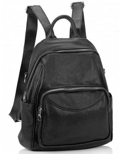 Фотография Черный женский рюкзак Olivia Leather NWBP27-006A
