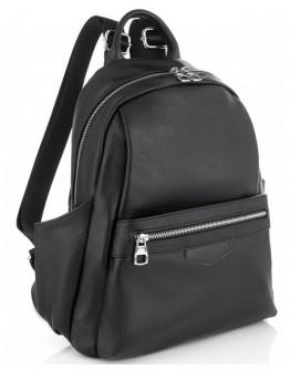 Кожаный черный женский рюкзак Olivia Leather NWBP27-007A