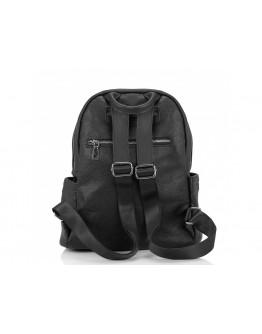 Рюкзак женский черный кожаный Olivia Leather NWBP27-008A