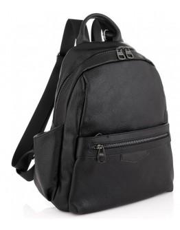 Кожаный черный женский рюкзак Olivia Leather NWBP27-009A