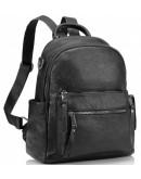 Фотография Женский рюкзак черный кожаный Olivia Leather NWBP27-8881A