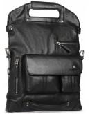 Фотография Вместительная мужская кожаная сумка - трансформер Blamont P5892211