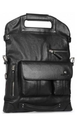 Вместительная мужская кожаная сумка - трансформер Blamont P5892211