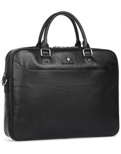 Фотография Элитная мужская кожаная деловая сумка для мужчин Blamont P5912061