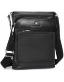 Фотография Кожаная мужская сумка на плечо - мессенджер Blamont P7877721