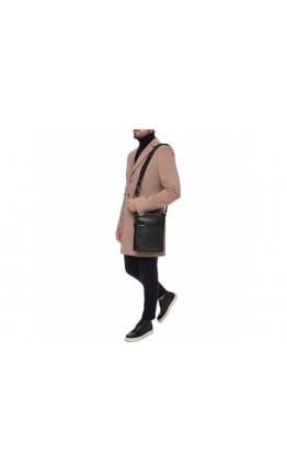 Кожаная мужская сумка на плечо - мессенджер Blamont P7877721