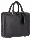 Фотография Мужская черная деловая сумка для документов Visconti PLT10 Royce 13 (Black)