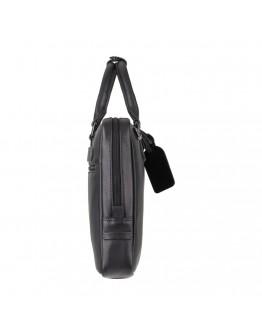 Мужская черная деловая сумка для документов Visconti PLT10 Royce 13 (Black)