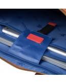 Фотография Сумка кожаная для документов рыжего цвета Visconti PLT10 Royce 13 (Tan)