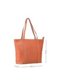 Рыжая женская кожаная сумка Visconti PLT20 Sophia 13 Laptop (Tan)
