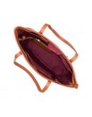 Фотография Рыжая женская кожаная сумка Visconti PLT20 Sophia 13 Laptop (Tan)