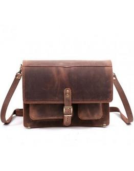 Стильная кожаная сумка на плечо Manufatto pochtaljon-71