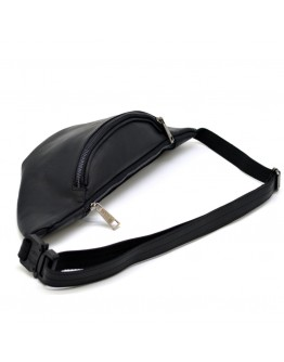 Мужская черная сумка на пояс c темной молнией Tarwa RA-3036-3md