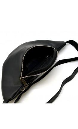 Мужская черная сумка на пояс Tarwa RA-3036-4lx