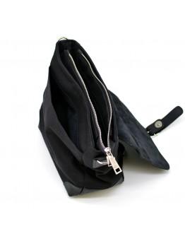 Мужской черный кожаный мессенджер Tarwa RAc-1309-3md