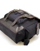 Фотография Серый мужской вместительный тканевый рюкзак Tarwa RAc-6680-4lx