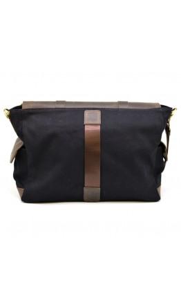 Мужская сумка на плечо из кожи и канваса Tarwa RAc-6690-4lx